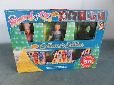 50th Anniversary Dolls WIZARD OF OZ 1988 Collector Edition Style Set of 6