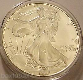 1996 AMERICAN EAGLE *KEY DATE* COIN 1 oz. SILVER *UNC* ~Lowest mintage Eagle~