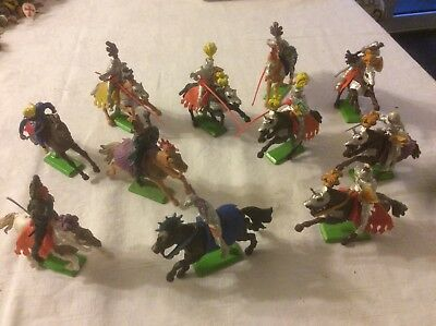 Britains Deetail mounted Knights assortment