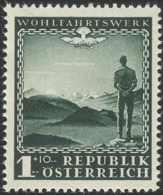 Austria 1945 Charity/Welfare Fund/Charities/Mountains/Health/Medical 1v at1077a