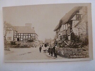 Vintage Postcard Inkberrow Real Photograph (V)