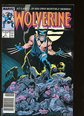 Wolverine #1 Very Good 1988 Marvel Comics