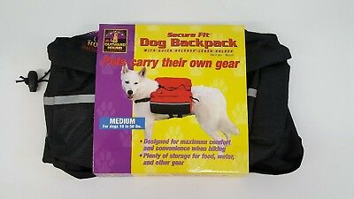 Adjustable Backpack For Dogs With Lots Of Storage, Reflective Strip And More