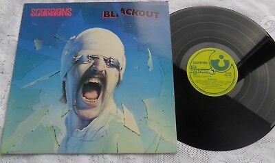 Scorpions  Blackout.    Shvl. 823.   Superb.   Near Mint