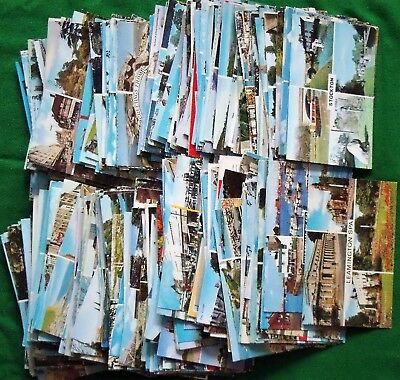 Collection x 400 Modern UK Topographical Multi View Postcards 1960's to 1980's