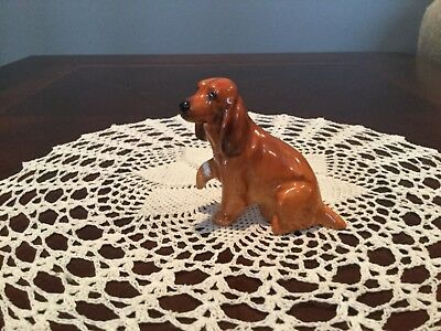 Royal Doulton Dog Figure Hurt Paw K9 V 2 inches tall
