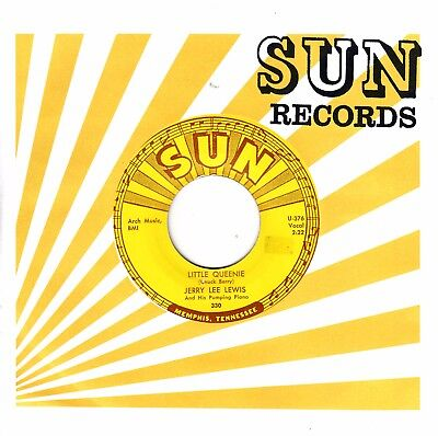 """7""""-  Jerry Lee Lewis = Little Queenie / I Could Never Be Ashamed Of You"""