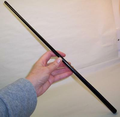 "Vintage HARDWOOD Tapered 18"" BATON/LECTURERS POINTER/CONDUCTOR Ebony Wood/Wooden"