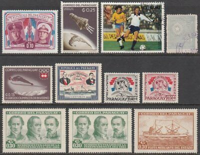 Paraguay, Small Collection of Issues, Unmounted Mint MNH & Fine Used (2)