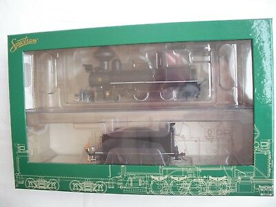 Spectrum 28322 DCC 4-4-0 American,Undecorated,Steam Locomotive Eng,HO On30 Scale