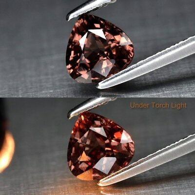 1.04ct 6.1x4.6mm Oval Natural Unheated Color Change Garnet, Africa