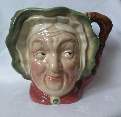 Beswick Large Character Jug Sairey Gamp Model Number 371 VGC 17cms High