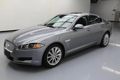 2014 Jaguar XF  2014 JAGUAR XF 2.0T SUNROOF NAV HEATED LEATHER 24K MI #U17220 Texas Direct Auto