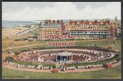A R QUINTON POSTCARD - The Oval, Cliftonville *2527