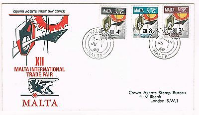 Malta 1968 - Fdc International Trade Fair #3499