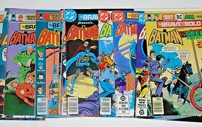 The Brave And The Bold comic lot #122,123,124,125,128,129,130,133,138,139,143,..