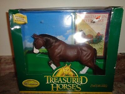 1997 Ertl Collectibles Treasured Horses Collection Clydesdale ~ NEW