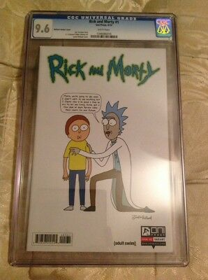 Rick And Morty 1 CGC 9.6 1:50 Roiland Variant