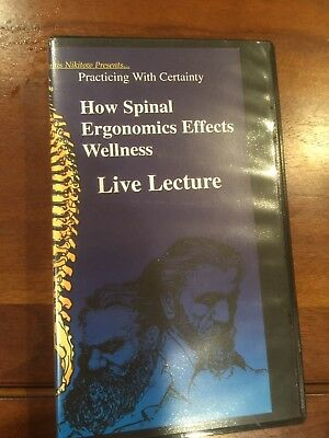Chiropractic Success VHS CDs Nikitow Greg Stanley