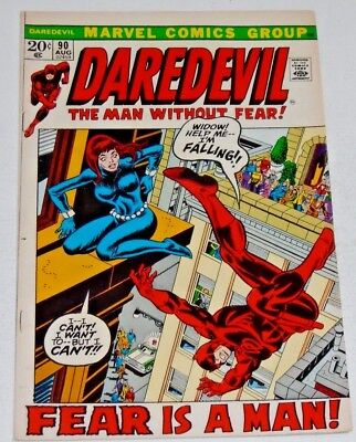 Daredevil #90 comic (Fn+) Black Widow!