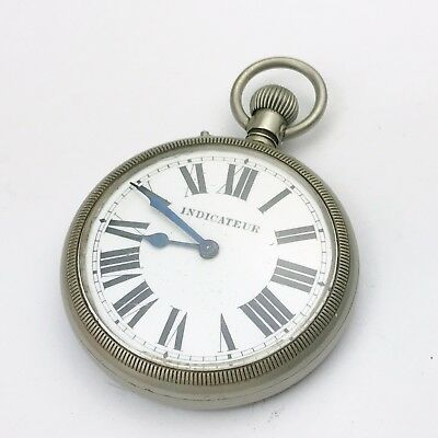 ANTIQUE VINTAGE OLD POCKET WATCH AS FOUND indicateur