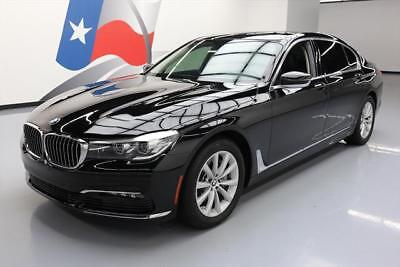 2017 BMW 7-Series  2017 BMW 740i PANO SUNROOF NAV REAR CAM HTD LEATHER 8K #739958 Texas Direct Auto