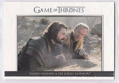 GAME OF THRONES SEASON SIX Relationships CARD DL39