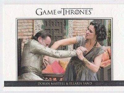 GAME OF THRONES SEASON SIX Relationships CARD DL33