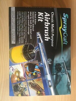 Spraycraft Classic Multi-Purpose Airbrush Kit.