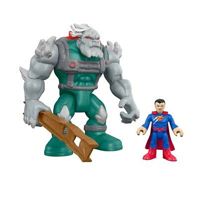 Imaginext DC Super Friends Doomsday and Superman