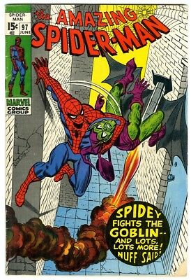 Amazing Spider-Man #97 (1971) VG Marvel Comics Green Goblin, drug story