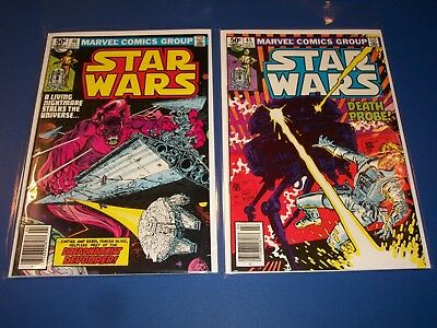 Star Wars #45,46 Bronze age lot of 2 VF to NM Gems