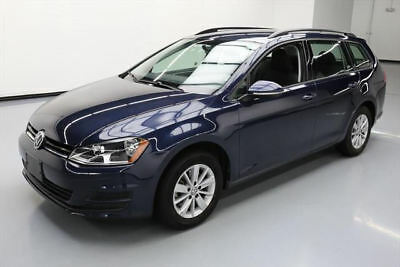 2016 Volkswagen Golf S Hatchback 4-Door 2016 VOLKSWAGEN GOLF TSI S WAGON AUTO REAR CAM 32K MI #517540 Texas Direct Auto
