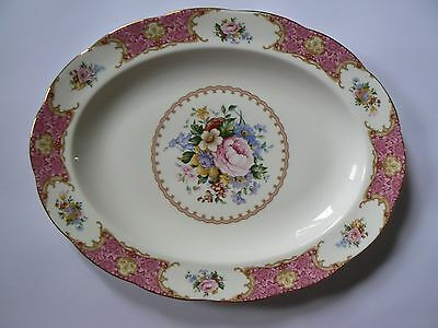 Royal albert Lady Carlyle oval plater