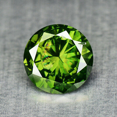 0.30 Cts EXCELLENT SPARKLING GREEN COLOR NATURAL LOOSE DIAMONDS