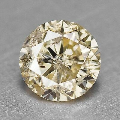 0.40 Cts SPARKLING FANCY QUALITY YELLOWISH GREY NATURAL DIAMONDS