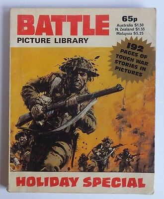 BATTLE PICTURE LIBRARY 1984 Holiday Special, 192 pages 65p cover price.