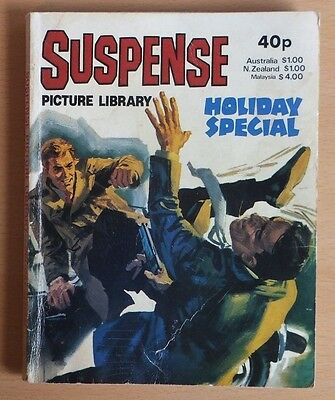 SUSPENSE PICTURE LIBRARY 1980 Holiday Special Comic, 192 pages, 40p cover price.