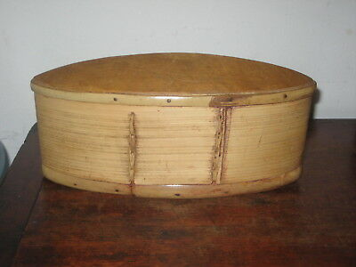 charming old WOOD & CANE TRIBAL ART BOX beatifully made