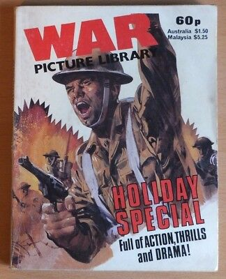 WAR PICTURE LIBRARY 1983 Holiday Special Comic, 192 pages 60p cover price.