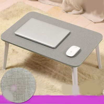 A4 Living Room Bedroom Furniture Gray Computer Desk Fold Artificial Board