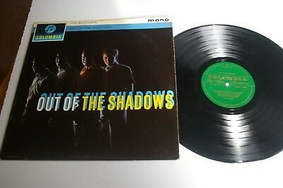 THE SHADOWS / OUT OF THE SHADOWS   LP  1st PRESS  MONO  1964