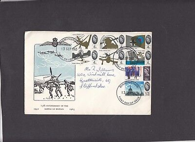 1965 Battle of Britain unusual illustration First Day Cover