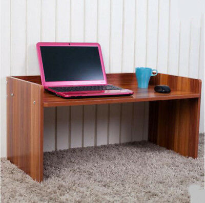 A42 Brown Furniture Bedroom Living Room Computer Laptop Desk Artificial Board