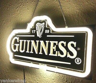 "SD157 Guinness Beer Bar Pub Shop Display Neon Light 3D Acrylic Sign 12"" X 6.5"""