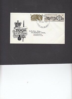 1965 Parliament with relevant Leicester FDI handstamp. Cat £50