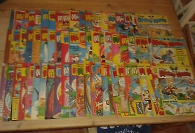 Collection of 67 Vintage Disney MICKEY MOUSE Comic Books: 1979-1980