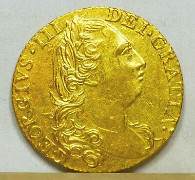 Great Britain Gold Guinea 1775 EF/Almost Uncirculated