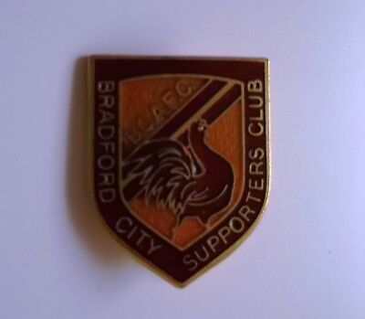 Old Bradford City Supporters Club Badge