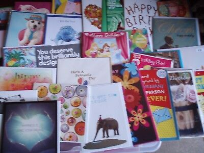 40 * Birthday / Blank * greeting cards ~ great mix!